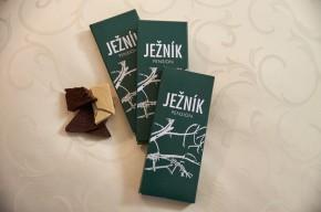 """Tabulková čokoláda """"Pension Ježník"""""""