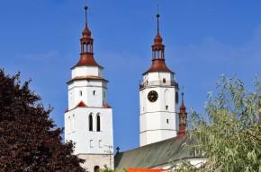 Věž kostela svatého Martina