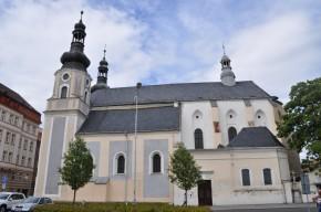 Kostel narození Panny Marie s klášterem minoritů